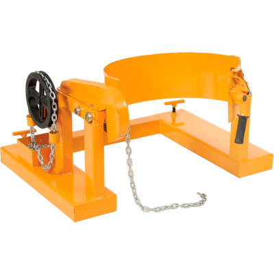 Global Industrial™ Forklift Tilting Drum Dumper, 1500 Lb. Capacity