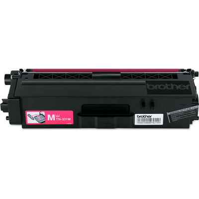 Brother® TN331M (TN-331M) Toner, 1500 Page-Yield, Magenta