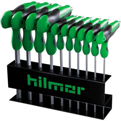 """Hilmor HKTH T-Handle Hex Key Set 1891471, 3/32"""" To 3/8"""""""
