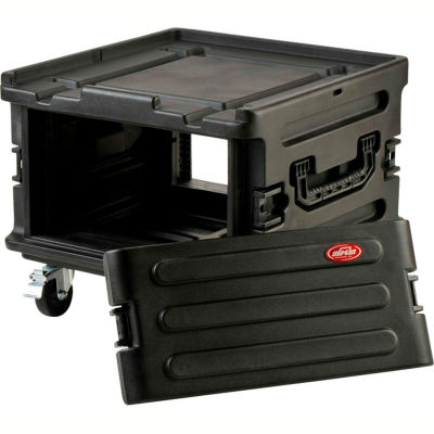 "SKB Roto Molded Rack Expansion Case 1SKB-R1906 W/Wheels Water Resistant, 25-1/2""L x 26""W"