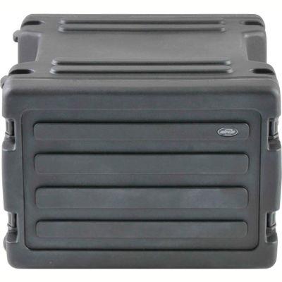 SKB Cases 8U - Roto Rolling Rack 1SKB-R8W Black, Keyed Lock, Water Resistant