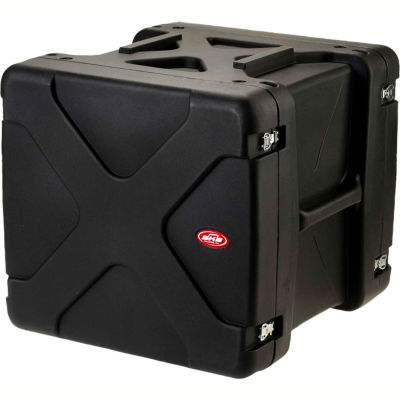 "SKB Cases 20"" Deep 10U Roto Shock Rack 1SKB-R910U20 Black, Water Resistant"