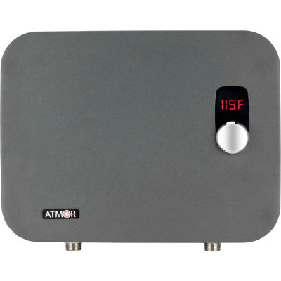 ATMOR ThermoPro 27kW/240-Volt 5.1 GPM Stainless Steel Digital Electric Tankless Water Heater