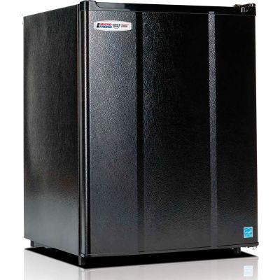 Microfridge® Refrigerator 2.3MF4R, 2.3 CF, Auto-Defrost, ESR, Black