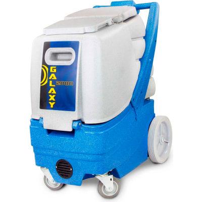 "EDIC Galaxy 12 Gal. Box Carpet Extractor, Adjust. 500 PSI Pump, 190"" Waterlift, W/O Heat - 2000CX-HR"