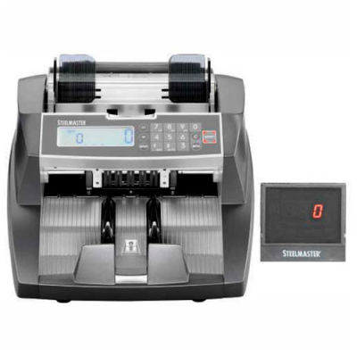 MMF STEELMASTER 4850 Premium Front-Loading Currency Counter with Counterfeit Detection 2004850C8