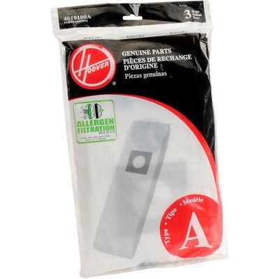 Hoover 4010100A Allergen Filtration Vacuum Cleaner Bag - Pkg Qty 12