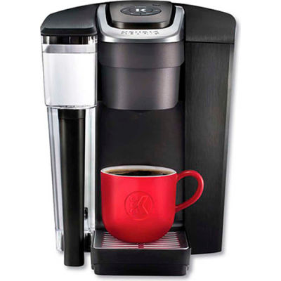 Keurig K1500 - Single Cup Brewer, Black/Silver, Auto Off Control