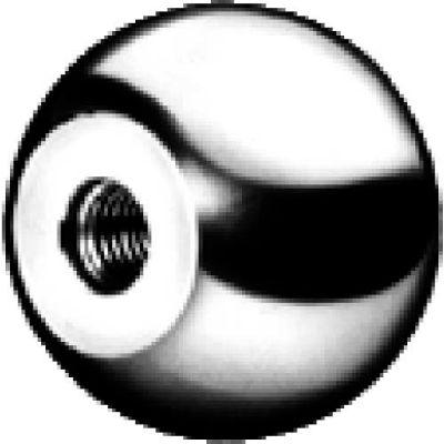 J.W. Winco DIN319-ST Steel Ball Knobs W/Blind Bore 50mm Diameter mm Length 20