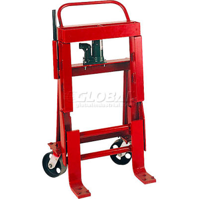 Wesco® Hydraulic Raise-N-Roll Machinery Dolly 260089 8000 Lb. Cap. - Pair