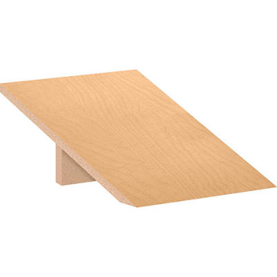 "Salsbury Sloping Hood 22251 for 18""D Extra Wide Designer Wood Locker 1 Wide Maple"