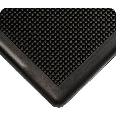 "Wearwell® Sanitizing Footbath Mat 1/2"" Thick 2' x 2-2/3' Black"