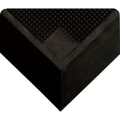 """Wearwell® Tall Wall Sanitizing Footbath Mat 2-1/2"""" Thick 2-1/2' x 3-1/4' Black"""