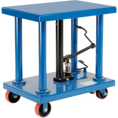 Global Industrial™ Work Positioning Post Lift Table Foot Control 6000 Lb. Capacity