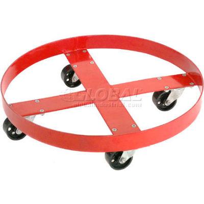 Global Industrial™ Drum Dolly for 55 Gallon Drum - Steel Wheels 1000 Lb. Capacity