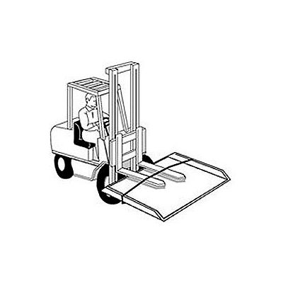 Lifting Chains ACLC for Bluff® Aluminum with Steel Curb & All-Steel Dock Boards