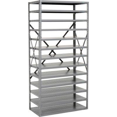 Global Industrial™ Steel Open Shelving 13 Shelves No Bin - 36x18x73