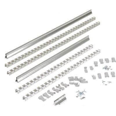 "Global Industrial™ Gravity Carton Flow Roller Track Kit 96"""