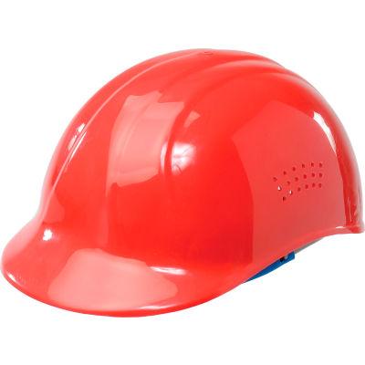 ERB™ 19114 Vented 4-Point Suspension Bump Cap, Red