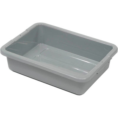"""Rubbermaid® Bus Utility Tote Box Without Lid, 20""""L x 15""""W x 5""""H"""