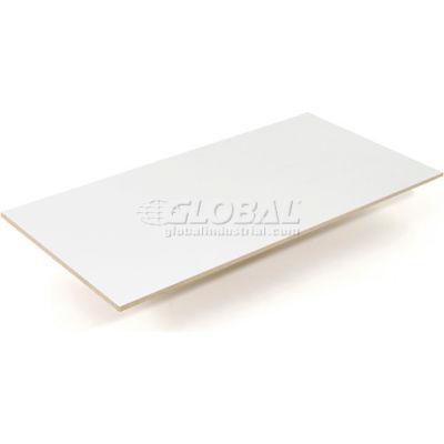 Global Industrial™ Additional 48 x 24 Laminate Shelf for Easy Adjust Boltless Shelf Trucks