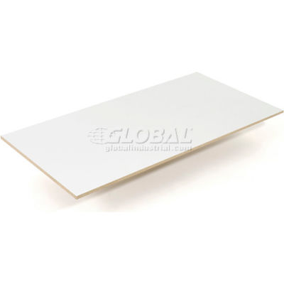 "Global Industrial™ Melamine Laminated Deck 96""W x 24""D x 1/2"" Thick"