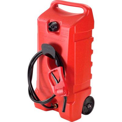 Flo n' Go Duramax Polyethylene Gas Caddy & Fuel Tank, 14 Gallon Capacity