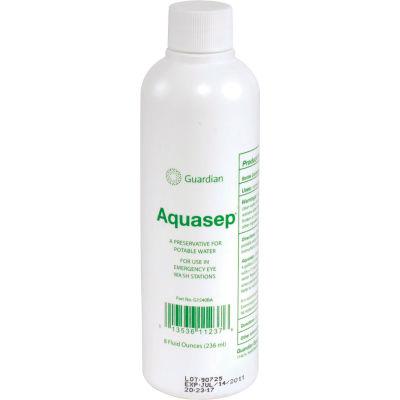 Guardian Equipment Case Of Four 8 Oz. Bottles Bacteriostatic Additive For Portable Eyewash Station