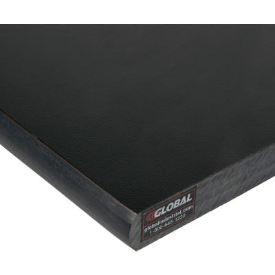 """Global Industrial™ Phenolic Resin Safety Edge Top, 60""""W x 30""""D x 1"""" Thick"""