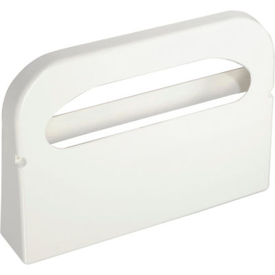 Boardwalk Wall Mount Plastic Toilet Seat Cover Dispenser, White - BWKKD100