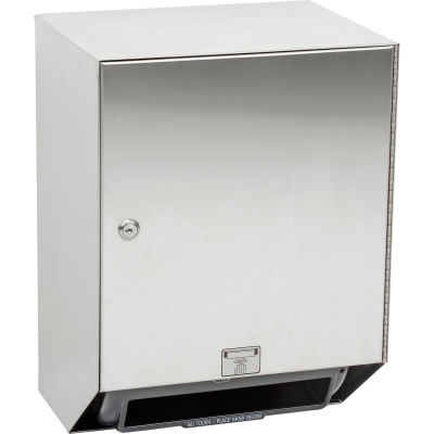 ASI® Automatic Paper Towel Roll Dispenser, Stainless Steel