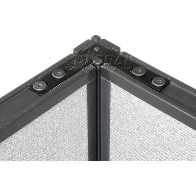 "Interion® 90 Degree Corner Connector Kit For 76"" H Panel"