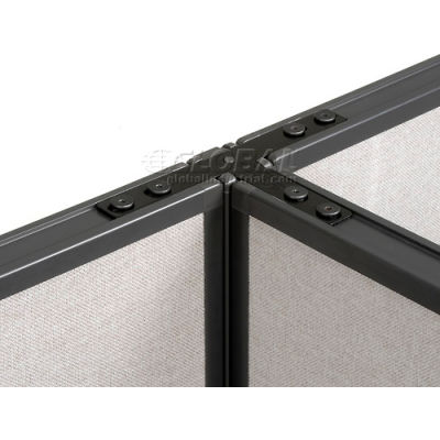 """Interion® Three Way Connector Kit For 76"""" H Panel Without Cable"""