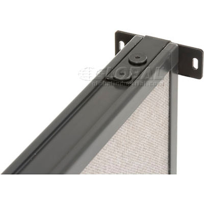 Interion® Wall Bracket Kit For Office Partitions