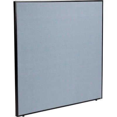 "Interion® Office Partition Panel, 60-1/4""W x 60""H, Blue"