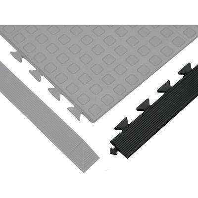 "Wearwell® Rejuvenator Ramp Male 5/8"" Thick 3.25'  Black"