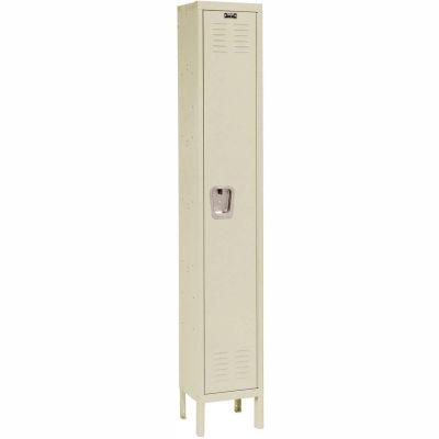 Hallowell U1888-1PT Premium Locker Single Tier 18x18x72 - 1 Door Ready To Assemble - Tan