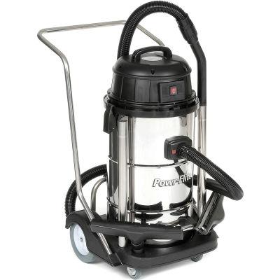 Powr-Flite® Stainless Steel Wet Dry Vacuum 15 Gallon - PF53
