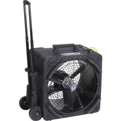 Powr-Flite® Axial Floor Dryer With Handle & Wheels, 2 Speed, 1/4 HP, 3000 CFM
