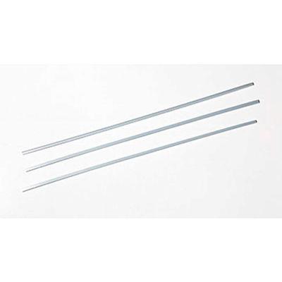 """Orfit® Precut Strips, Thin, 18"""" x 1/5"""" x 1/12"""", Sonic Silver, 10 Pieces/PK"""