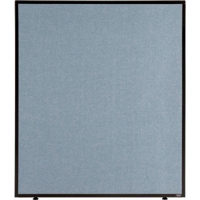 "Interion® Office Partition Panel, 36-1/4""W x 42""H, Blue"