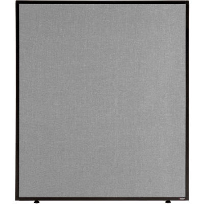 """Interion® Office Partition Panel, 36-1/4""""W x 42""""H, Gray"""