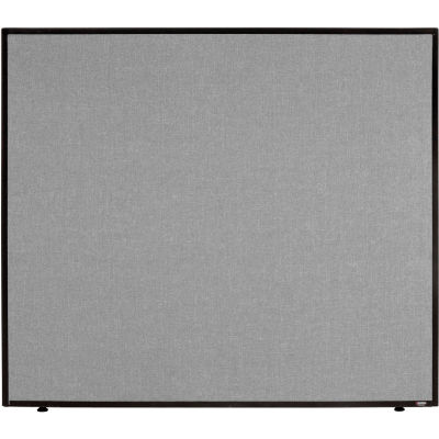 """Interion® Office Partition Panel, 48-1/4""""W x 42""""H, Gray"""