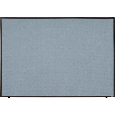 "Interion® Office Partition Panel, 60-1/4""W x 42""H, Blue"
