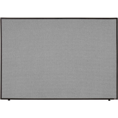 "Interion® Office Partition Panel, 60-1/4""W x 42""H, Gray"
