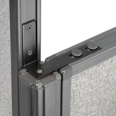 """Interion® High Low Corner 90 Kit For 64"""" Low Panel"""