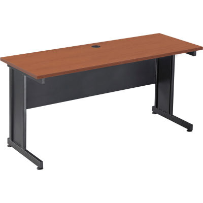 "Interion® 60"" Desk Cherry"