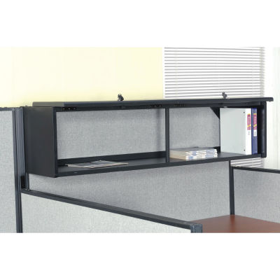 """Interion® 60"""" Overhead Cabinet In Black"""