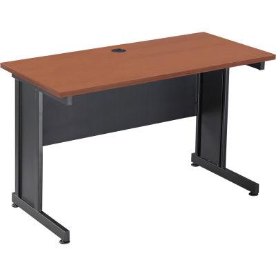 "Interion® 48"" Desk Cherry"