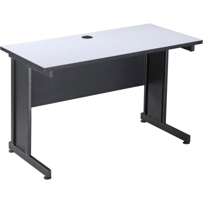 "Interion® 48"" Desk Gray"